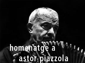 homenatge a astor piazzolla — tango – jazz